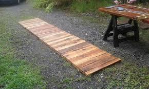 outdoor pallet wood. Build-a-wood-pallet-walk-path-with-use-of-pallet-wood Outdoor Pallet Wood