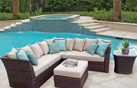 tan outdoor patio ideas medium size wicker sectional patio furniture outdoor sets all weather closeout wicker patio