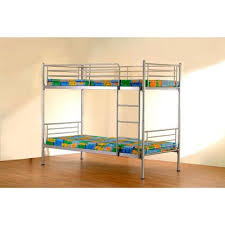 Buy Heartlands Chicago Bunk Bed Frame - Silver from our Kids' Bunk ...