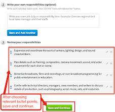 Modern Bullet Points Resume Broadcast Professional Sample Resume
