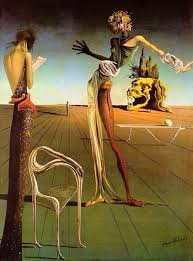 woman with a head of roses by salvador dali 1935 oil on canvas
