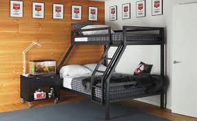 Stylish bedroom with cool decor additions View in gallery Smart bunk bed  idea is perfect for adult rooms as well
