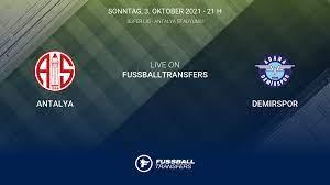 Antalya vs Demirspor 8. Spieltag Süper Lig 2021/2022 3/10 im Liveticker