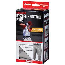 Franklin Sports Youth Baseball Pants Grey Walmart Com