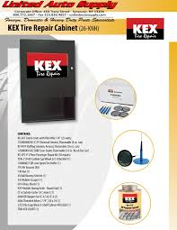United Auto Supply > New Products > KEX Tire Repair