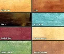 Concrete Floor Color Chart Stain Garage Floor Soundtrackmind Com