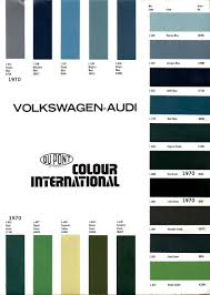 52 Volkswagen Silver Colour Code