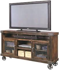 Wonderful Outdoor Tv Stand Entertainment Center On Wheels Amazing Industrial With Home Design Ideas