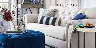 furniture on sale. this weekend only, pier one has all furniture on sale starting at just $50