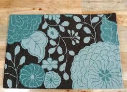 brown bath rugs and blue bathroom ideas sets target rug chocolate