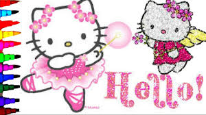 There are 269 hello kitty coloring for sale on etsy, and they cost $7.45 on average. Hello Kitty Sanrio Compilation Coloring Book Pages Kids Fun Art Disney Brilliant Color Show Youtube