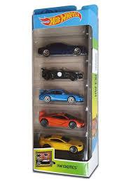 Подарочный набор <b>Hot Wheels Mattel</b> из 5 <b>машинок</b> серия HW ...