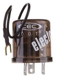 amazon com cec industries ef33rl turn signal flasher relay, led Led Turn Signal Flasher Relay Wiring cec industries ef33rl turn signal flasher relay, led compatible, 3 ground wire prongs Electronic Flasher for LED Turn Signals