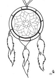 Free Coloring Page Adult Native Indian American Woman Dreamcatcher