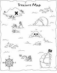 Kleurplaat Piraten Schatkaart Ausmalbilder Captain Sharky Malvorlage