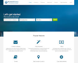 Template For Directory J Quark Joomla Template For Business Directory Cms Junkie