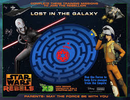 Small Picture Star Wars Rebels Printable Activity Sheets StarWarsRebels