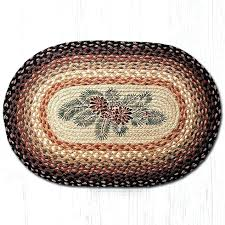 red braided rug and red berries oval braided rug capitol earth rugs op red white and