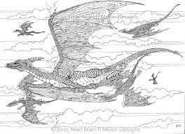 Dragon Coloring Pages Scary For Free Printable Dra Seaahco