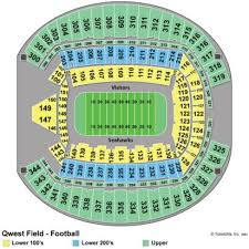 Centurytel Seating Chart Centurylink Field Section 144 High Quality Century Link Seating
