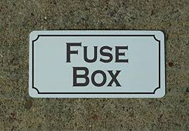 fuse box vintage style metal sign decor com fuse box vintage style metal sign decor