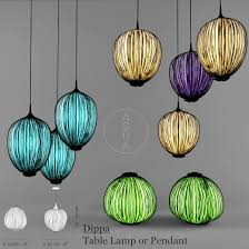 aqua creations lighting. Aqua-Creations DippaTable Lamp Or Pendant 3D Model Aqua Creations Lighting T