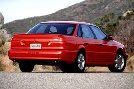 1990 95 ford taurus consumer guide auto 1993 ford taurus sho 4 door sedan