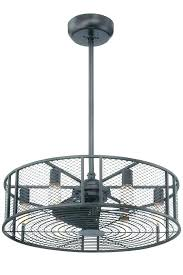 enclosed ceiling fan. Enclosed Ceiling Fans With Lights Best Iron Small Industrial Fan