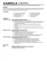Benefits Specialist Resume Sample Luxury Custom Resume Templates New ...
