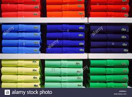 Lacoste Polo Shirt Color Chart Polo Shirts Stock Photos Polo Shirts Stock Images Alamy