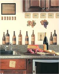 wine decor for kitchen wine bottle wall stickers l and stick decals wine decor kitchen curtains