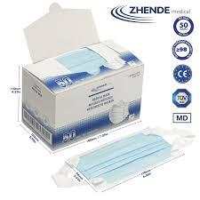 Zhende <b>Medical Face Mask</b> Type IIR - <b>50 Pcs</b> — The Basic ...