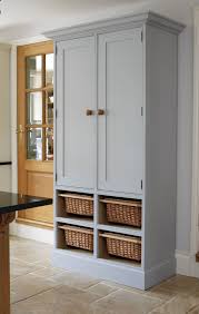 image of tall pantry cabinet paint