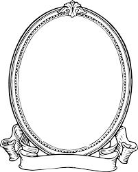 frame black and white