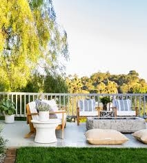 whitney port s outdoor oasis