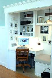closet desk ideas awesome 15 closets turned into space saving office nooks with regard to 12