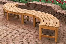 curved outdoor bench outdoor decoration ideas curved outdoor bench