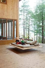Outdoor Hanging Bed Summer At The Side Of House With Wood Materials Find  Interactive Ideas for