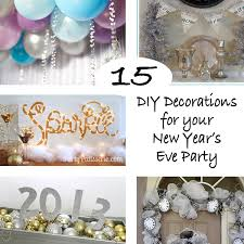 15 diy decorations for your new year s eve party
