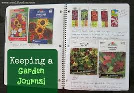 garden journal. Simple Garden Keeping A Garden Journal  Real Food RN Inside R