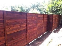 horizontal wood fence cost slowakinfo