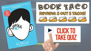 wonder book quiz review with game reward wonder by r j palacio