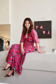 Fashion Designer Taylor Fridays With Flea Style Fashion Designer Tanya Taylor