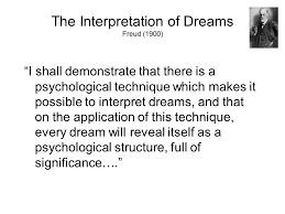 dreams freud s interpretation of dreams