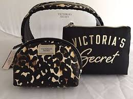 image is loading victoria 039 s secret leopard cosmetic makeup bags