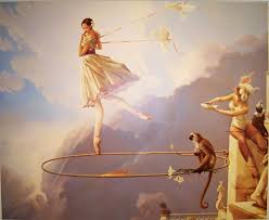 michael parkes thesday chid painting