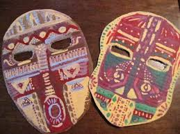 Cardboard Masks To Decorate Cardboard Masks A Mask Decorating on Cut Out Keep Creation 33