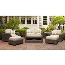 brown jordan northshore patio furniture. brown jordan northshore patio loveseat with harvest cushions and regency wren throw pillows the home depot furniture n