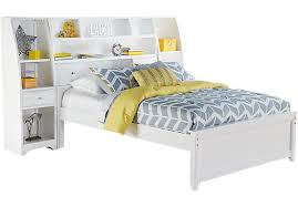 White Toddler Bed With Storage White Pc Twin Bookcase Wall Bed With Storage  Piers Twin Beds White