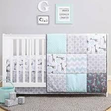 white crib bedding set for baby boys